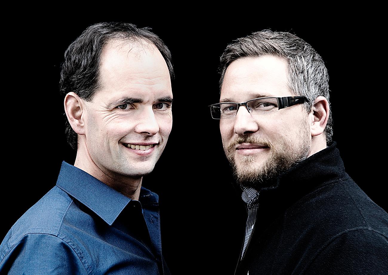 Martin und Arne Bercher